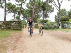 camping le chaponnet pistes cyclables