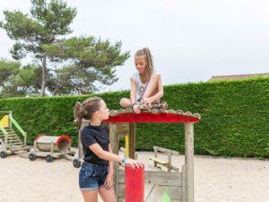 jeux enfants camping près des sables d'olonne