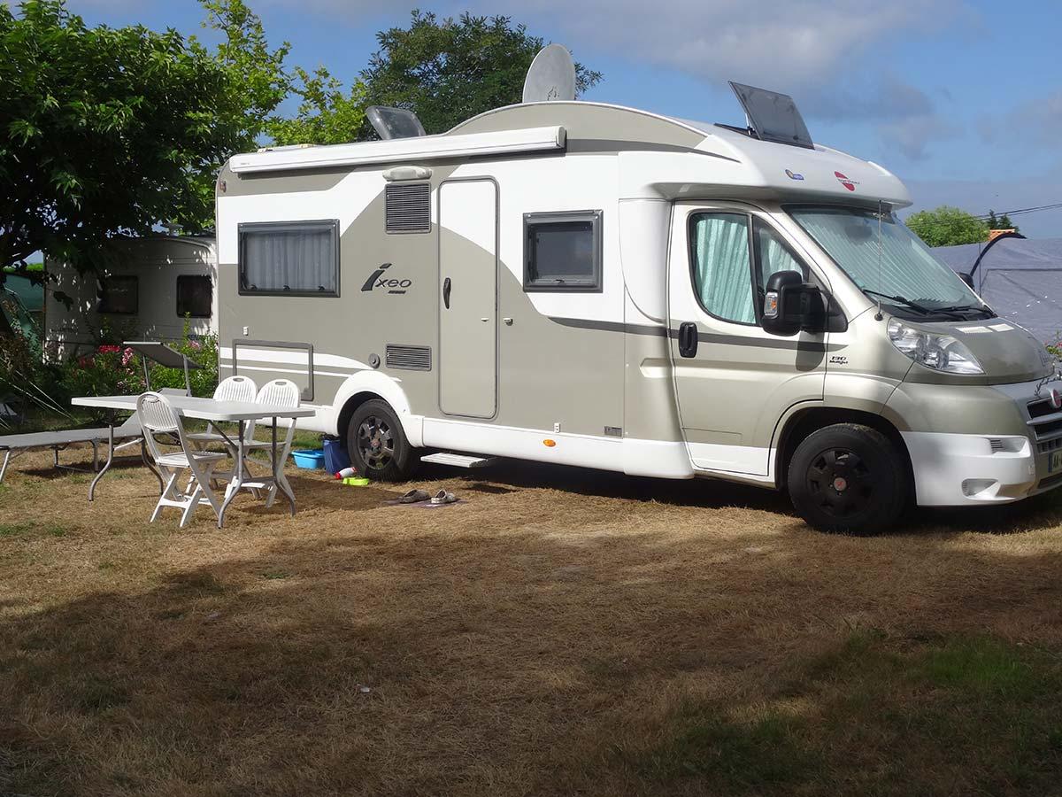 Emplacement confort camping le Chaponnet vendée