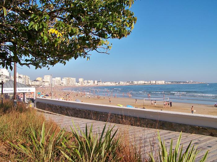 grande plage des sables d'olonne