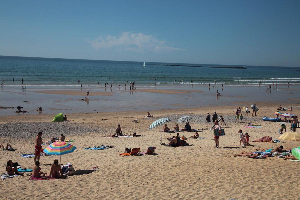 la plage des dunes brem en vendée