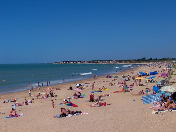 la plage des dunes brem