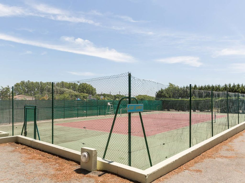 camping avec tennis en vendée