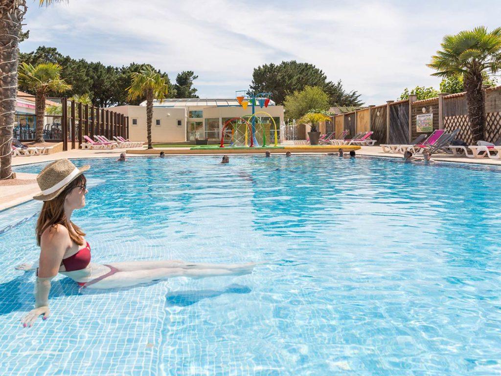 piscine du camping vendée