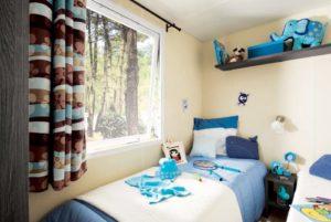 chambre enfants mobilhome vendée
