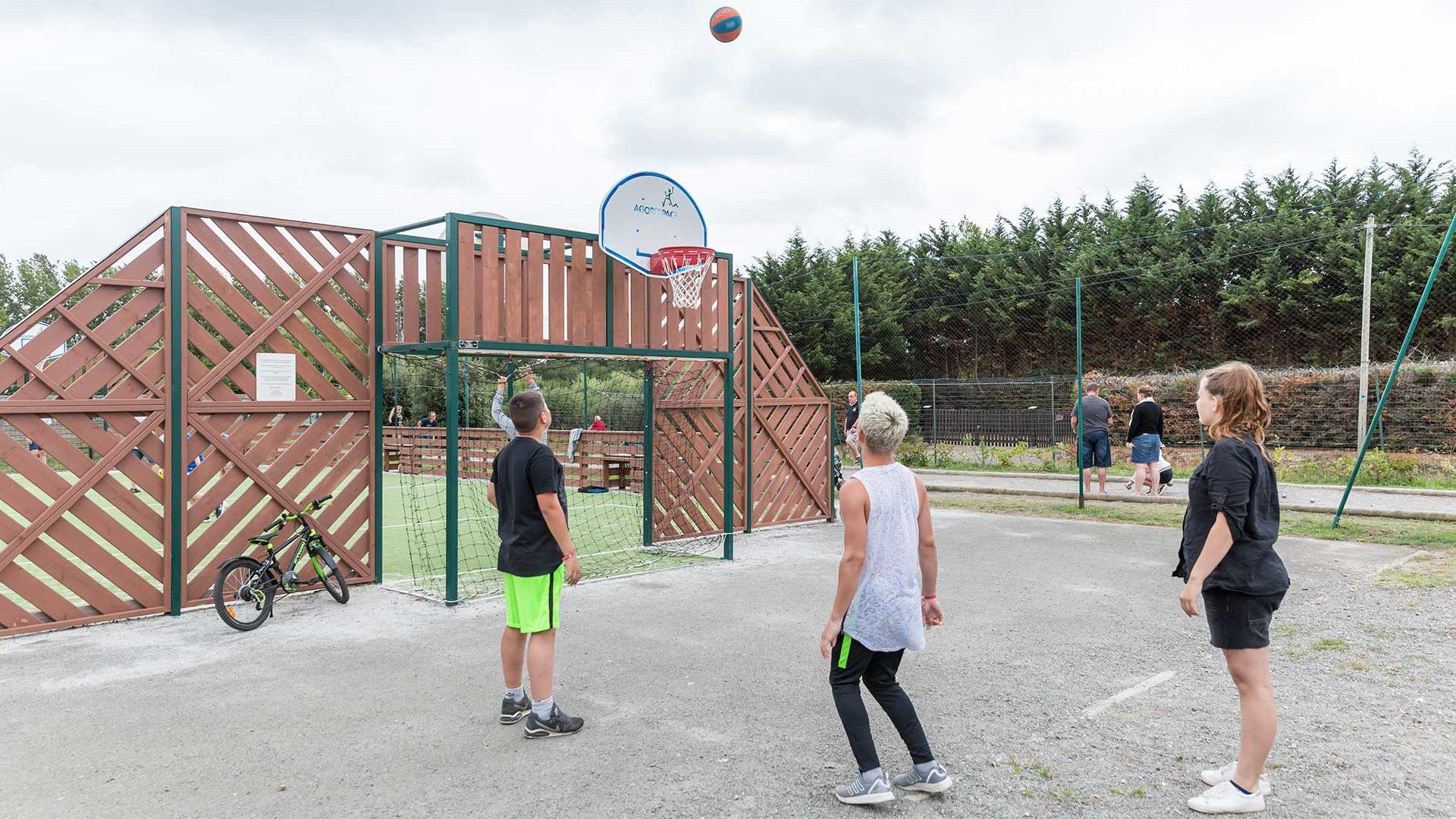 le club ados du camping en Vendée